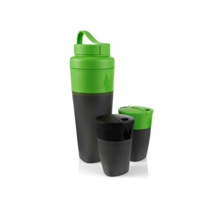 Set Light My Fire Pack Up Drink - Negru/Verde