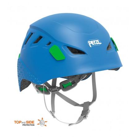 Casca alpinism pentru copii Petzl Picchu - Albastru