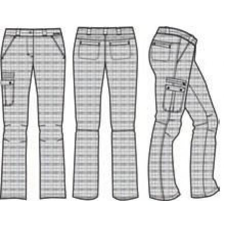 Pantaloni Alpine Pro Florie