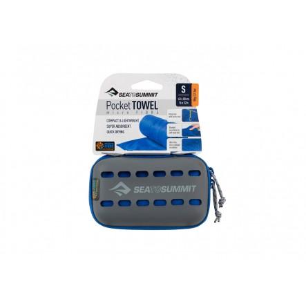 Prosop microfibra Sea to Summit Pocket Towel Small 40 x 80 cm - Cobalt Blue