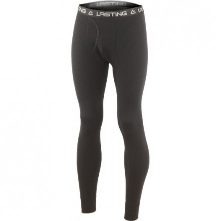 Pantaloni de corp Lasting 100% lana merino Bezy - Negru