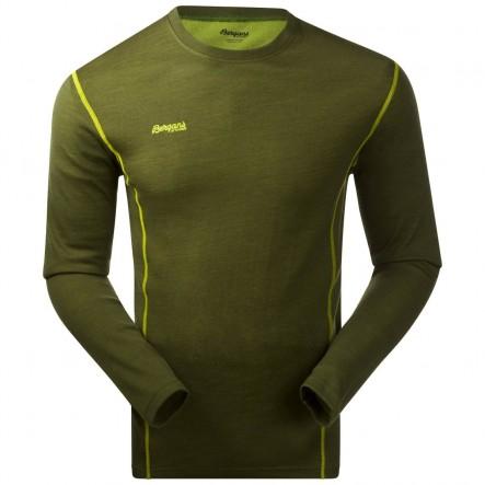 Bluza de corp Bergans Akeleie - verde