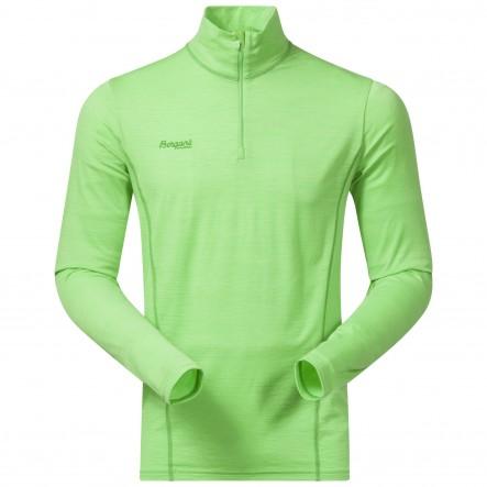 Bluza de corp Bergans  Soleie Half Zip - Verde de la Bergans of Norway