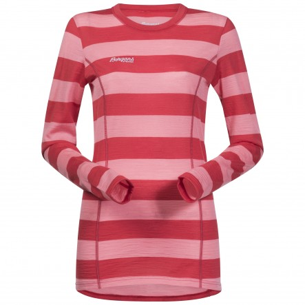 Bluza de corp Bergans Soleie Lady - Rosu