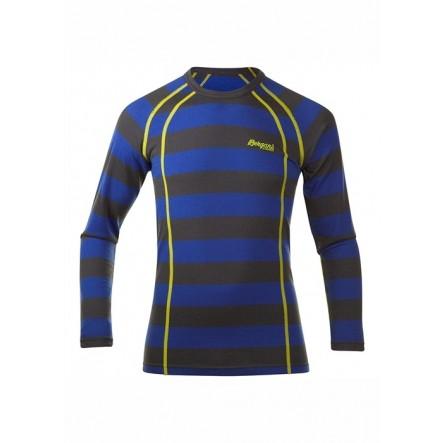 Bluza de corp copii Bergans Fjellrapp - Albastru