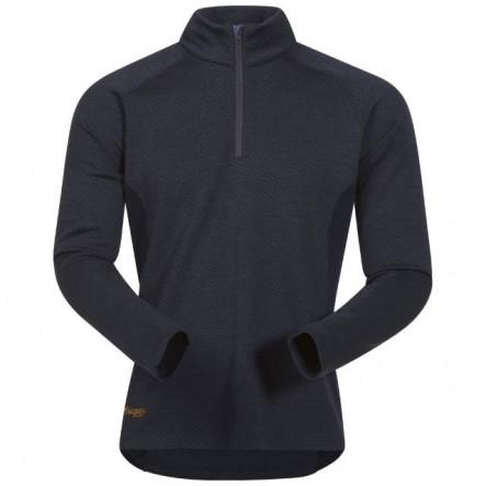 Bluza de corp 100% Lana Merino Bergans Snoull Half Zip - Navy