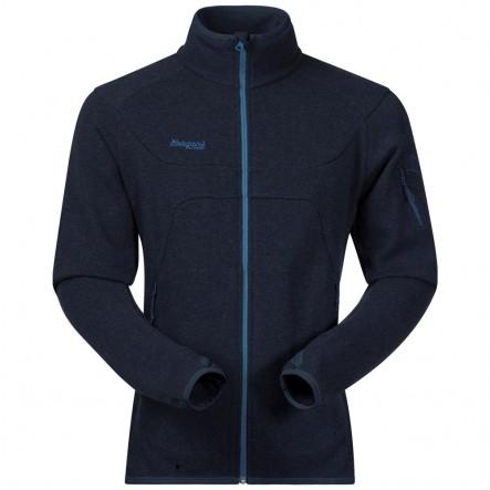 Bluza tehnica cu lana Merinos Bergans Reinfann