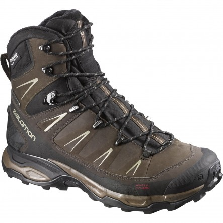 Bocanci de munte Salomon X Ultra Winter Climashield maro