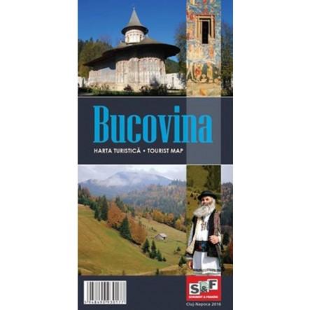 Harta turistica Bucovina de la Muntii Nostri