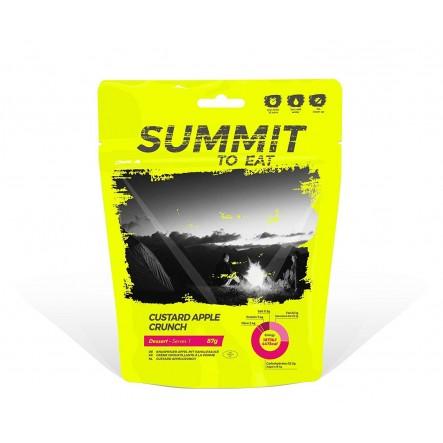 Mancare desert Summit To Eat Budinca de vanilie cu mar si ovaz crocant - 87 g de la Summit To Eat