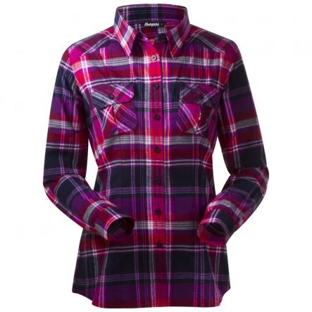 Camasa cu maneci lungi Bergans Bjorli Lady Shirt - Mov