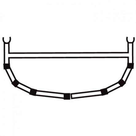 5-Tija transversala cu bara superioara pentru canoele Ally 15.5, 17, 18.5