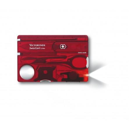 Card multifunctional Victorinox SwissCard Lite Ruby 0.7300.T