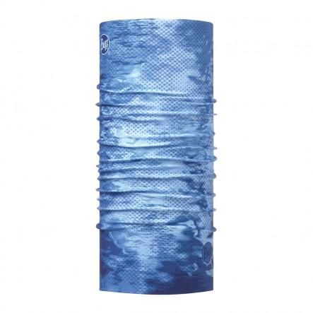 Bandana multifunctionala BUFF Coolnet UV+ - PELAGIC CAMO BLUE