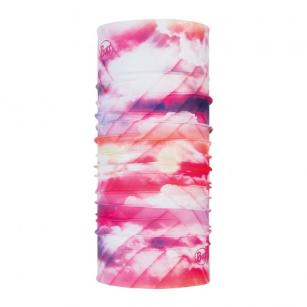 Bandana multifunctionala BUFF Coolnet UV+ - Ray Rose Pink