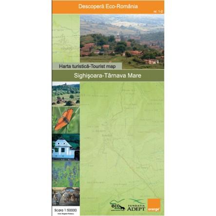 Harta Sighisoara - Tarnava Mare - Zenith