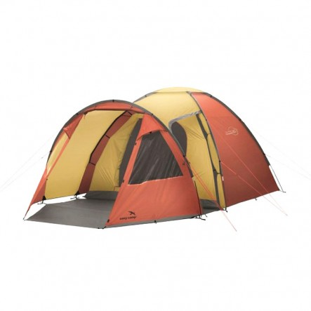Cort de familie Easy Camp Eclipse 500 - 5 persoane - Gold/Red (2020)
