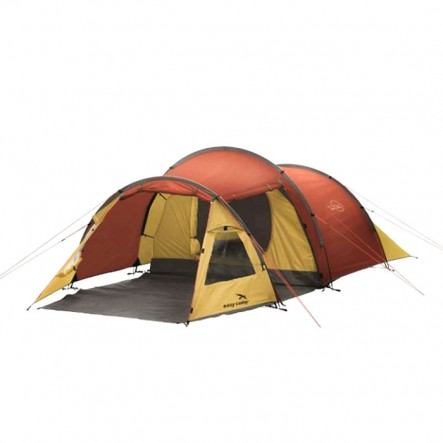 Cort Easy Camp Spirit 300 - 3 persoane - Gold/Red