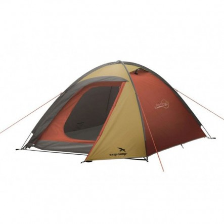 Cort tip dom Easy Camp Meteor 300 - 3 persoane - Gold/Red (2020)