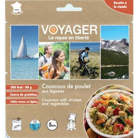 Mancare Voyager Couscous cu pui si legume (80 g)