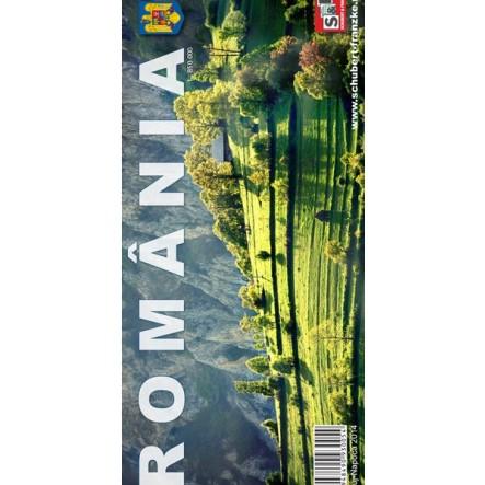 Harta Romaniei ed. 2 - Muntii Nostri de la Muntii Nostri
