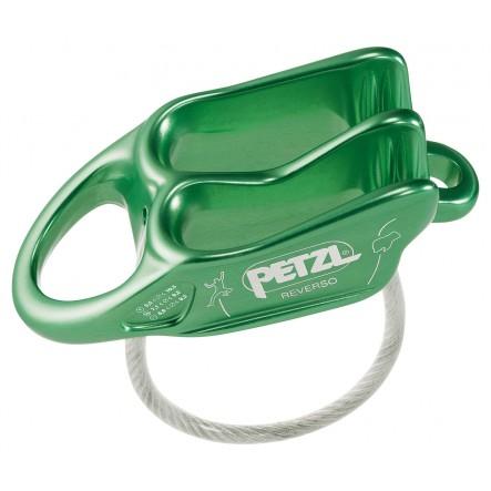 Coborator Reverso Petzl - Verde
