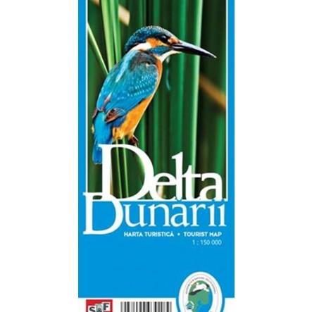 Harta turistica Delta Dunarii de la Muntii Nostri
