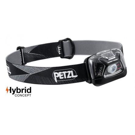 Lanterna frontala Petzl Tikka Hybrid 2019 - Albastru