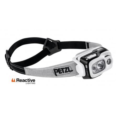 Lanterna frontala Petzl Reactive Swift RL 900 lumeni - Negru