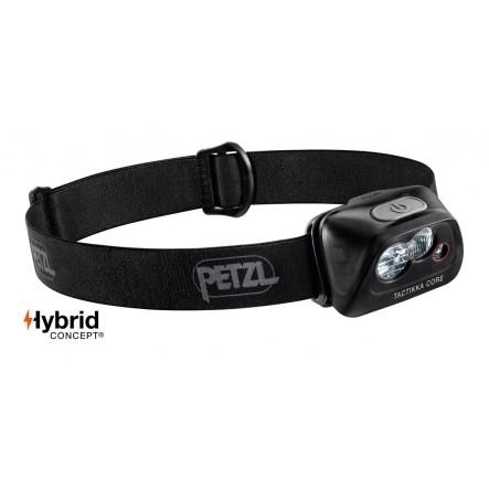 Lanterna frontala Petzl Actik Core Hybrid - Negru