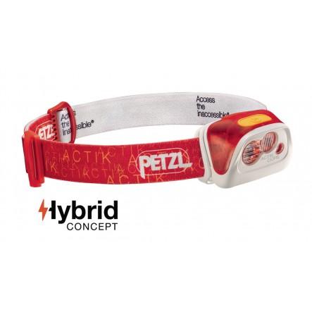 Lanterna frontala Petzl Actik Core - Rosu