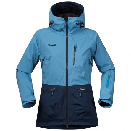 Geaca de ski dama Bergans Myrkdalen Insulated Lady - Albastru