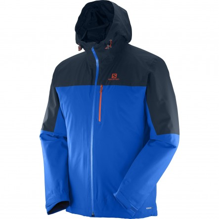 Geaca ski Salomon Nebula Insulated-Albastru