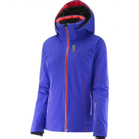 Geaca ski Salomon Whitelight-Albastru