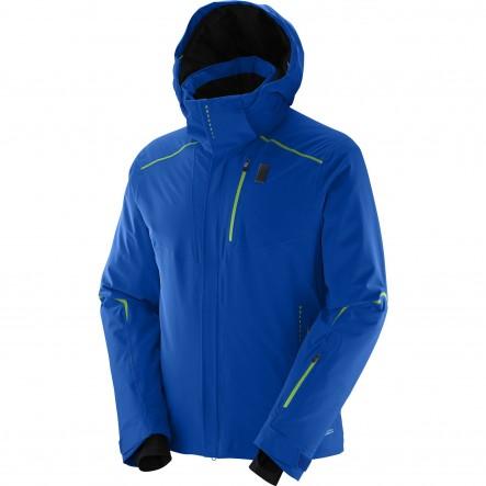 Geaca ski Salomon Whitelight-Albastru