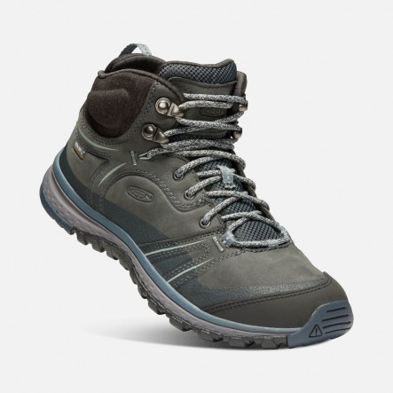 Ghete KEEN TERRADORA LEATHER MID WP W - Gri