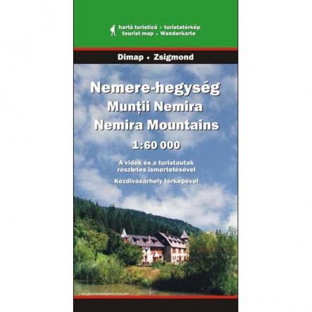Harta Muntii Nemira