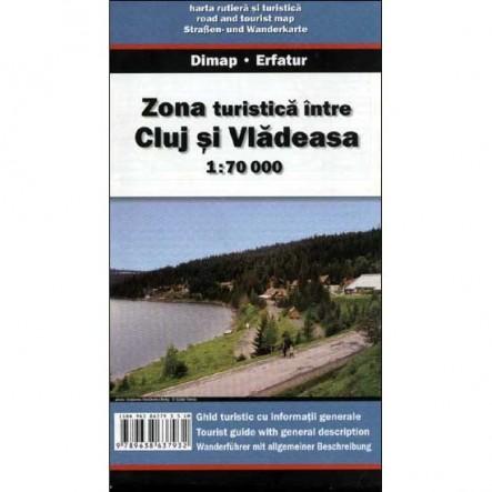 Harta Zona Cluj - Vladeasa
