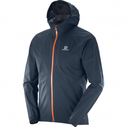 Geaca alergare Salomon Bonatti Waterproof-Navy