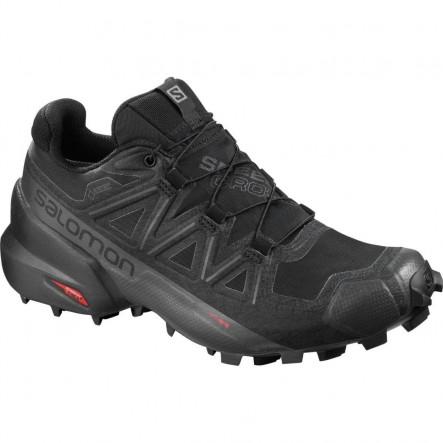 Pantofi alergare Salomon SPEEDCROSS 5 GTX W - Negru