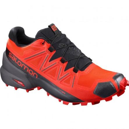 Pantofi alergare Salomon SPEEDCROSS 5 GTX - Portocaliu