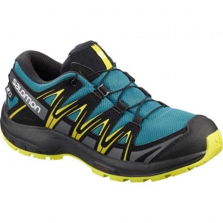 Pantofi alergare Salomon XA PRO 3D CSWP J  - Albastru