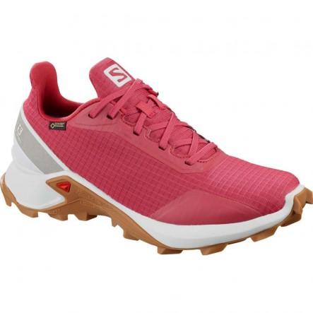 Pantofi alergare Salomon ALPHACROSS GTX W - Roz