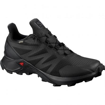 Pantofi alergare Salomon SUPERCROSS GTX - Negru
