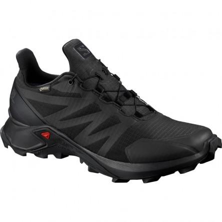 Pantofi alergare Salomon SUPERCROSS GTX W - Negru