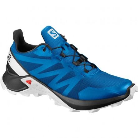 Pantofi alergare Salomon SUPERCROSS - Albastru
