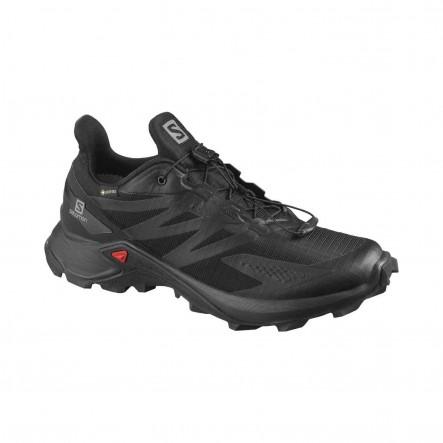 Pantofi alergare femei Salomon SUPERCROSS BLAST GTX - Negru