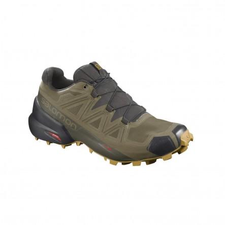 Pantofi alergare Salomon SPEEDCROSS 5 GTX - Kaki