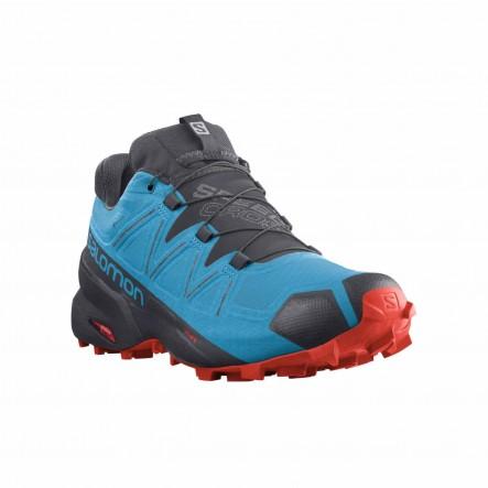 Pantofi alergare Salomon SPEEDCROSS 5 GTX - Albastru