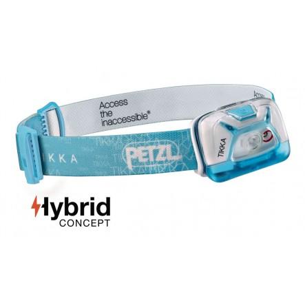 Lantena frontala Petzl Tikka Hybrid - Rosu